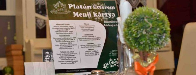 Platán Étterem, Balatonföldvár