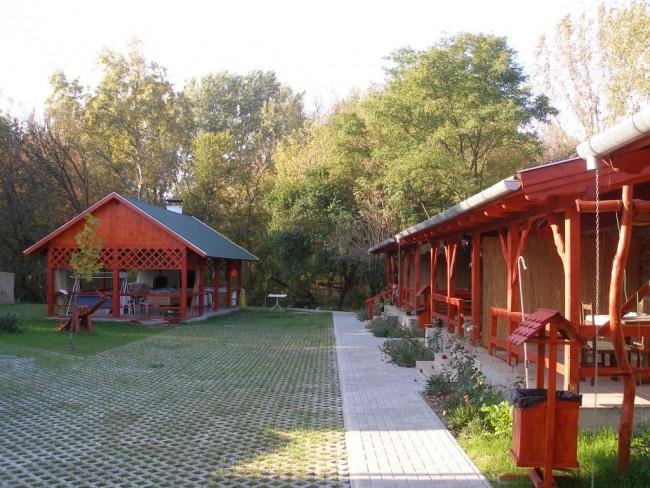 Szőke Tisza Pihenőpark, Nagyrév
