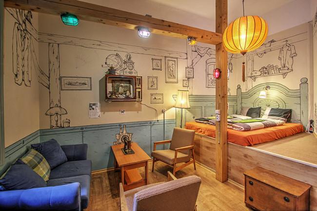 Lavender Circus Hostel, Doubles & Ensuites, BUDAPEST (V. kerület)