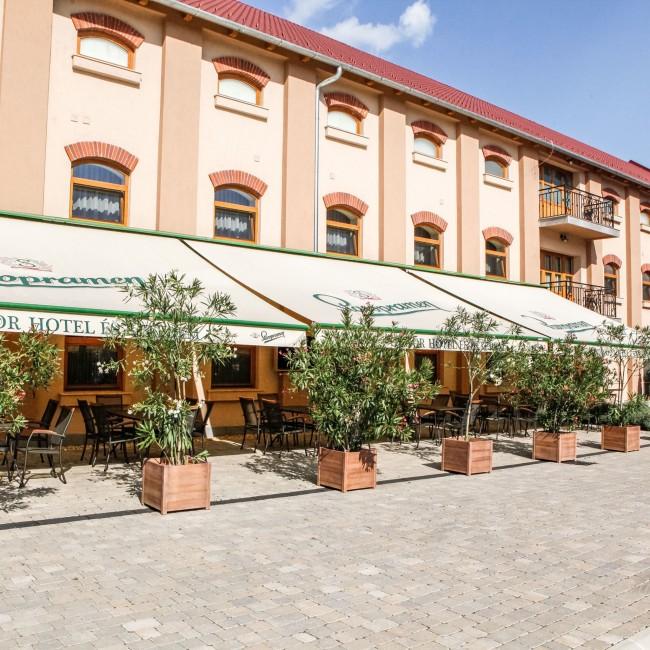 Hunor Hotel és Éterem, Vásárosnamény