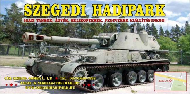 Szegedi Hadipark, Szeged